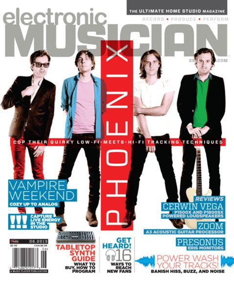 Electronic Musician Cover - 6/1/2013