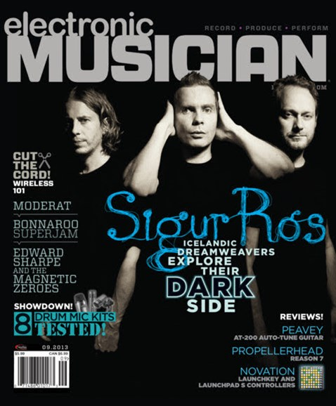 Electronic Musician Cover - 9/1/2013