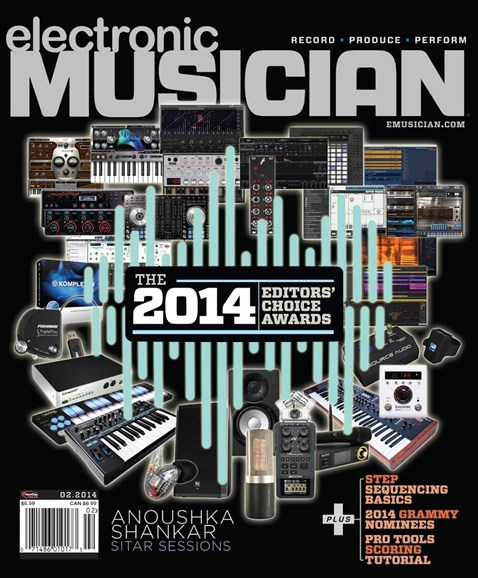 Electronic Musician Cover - 2/1/2014