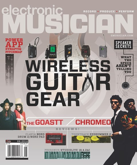 Electronic Musician Cover - 6/1/2014