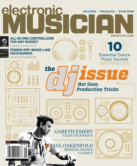 Electronic Musician Cover - 5/1/2014