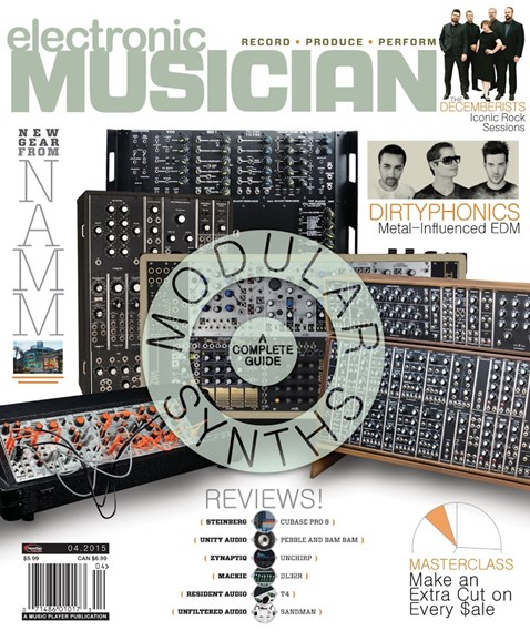 Electronic Musician Cover - 4/1/2015