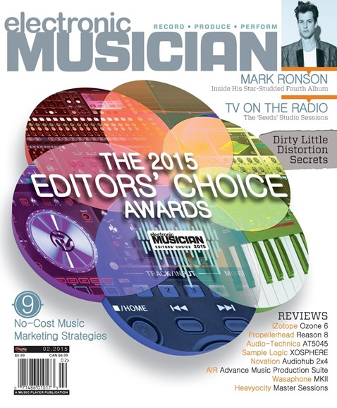 Electronic Musician Cover - 2/1/2015