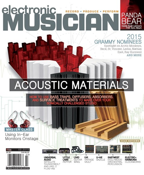Electronic Musician Cover - 3/1/2015