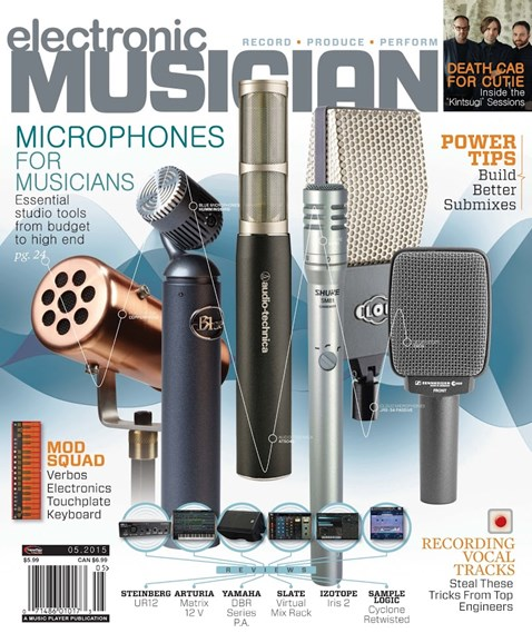 Electronic Musician Cover - 5/1/2015