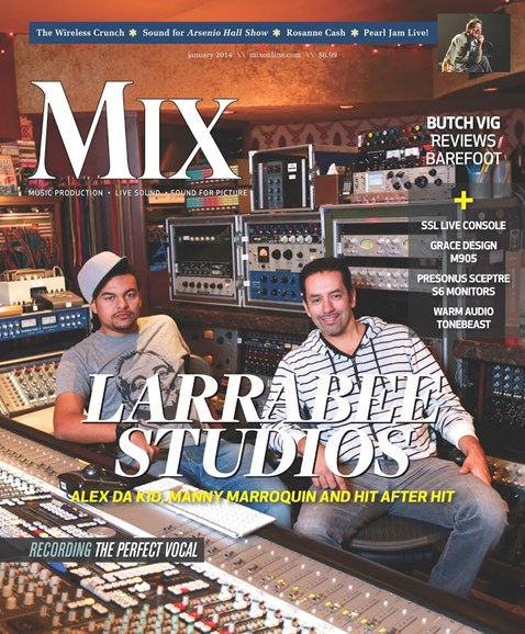 Mix Cover - 1/1/2014