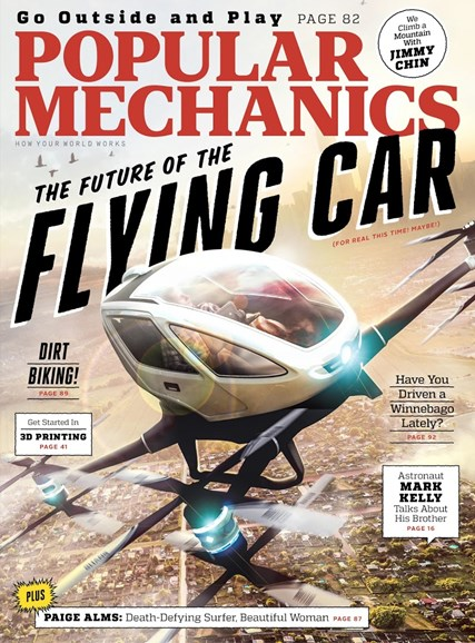 Popular Mechanics Cover - 4/1/2016