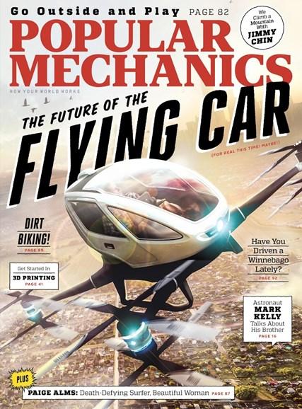 Popular Mechanics Cover - 4/1/2016