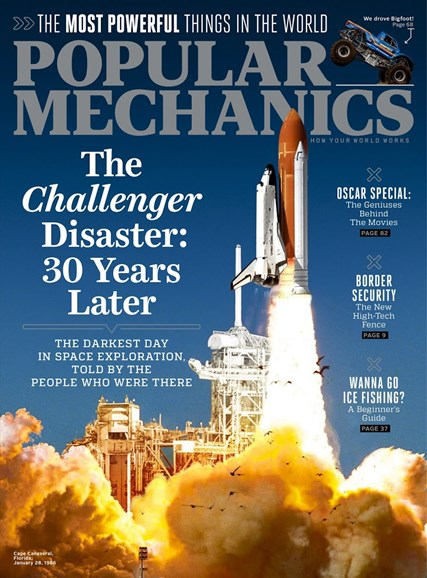 Popular Mechanics Cover - 2/1/2016