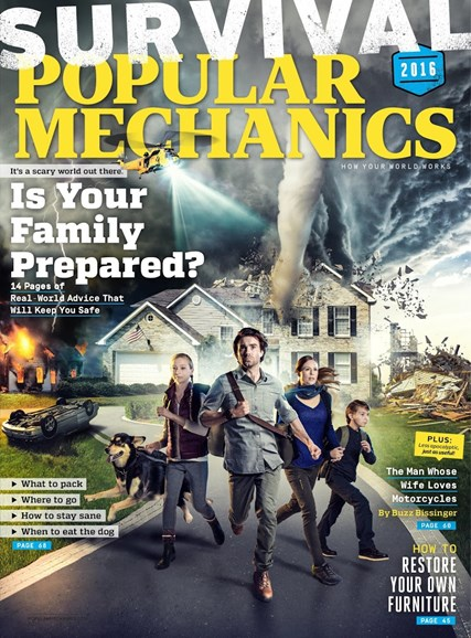 Popular Mechanics Cover - 3/1/2016