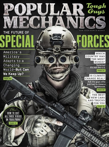 Popular Mechanics Cover - 5/1/2016