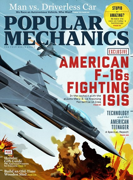 Popular Mechanics Cover - 12/1/2015