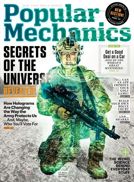 Popular Mechanics Cover - 7/1/2015
