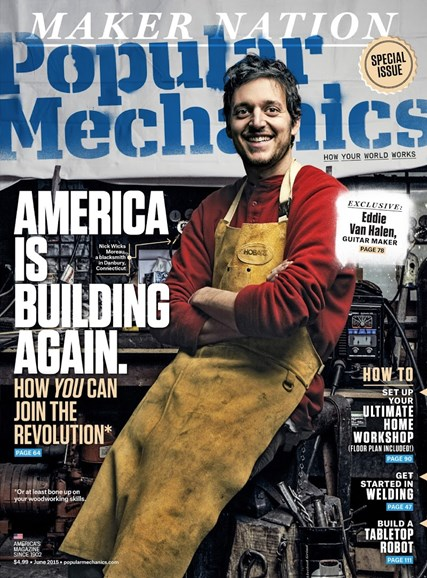Popular Mechanics Cover - 6/1/2015