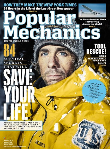 Popular Mechanics Cover - 3/1/2015