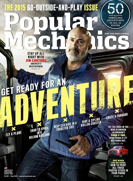 Popular Mechanics Cover - 5/1/2015