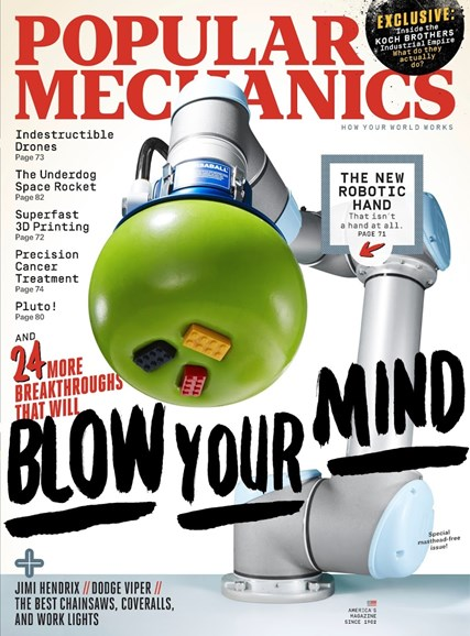 Popular Mechanics Cover - 11/1/2015