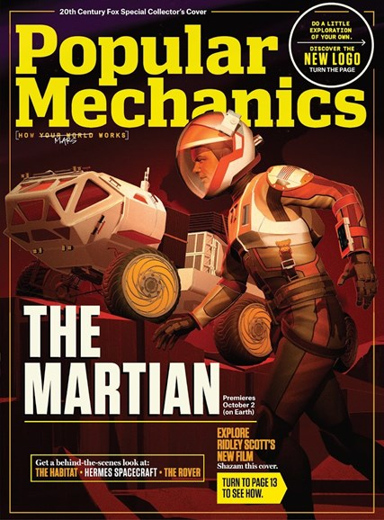 Popular Mechanics Cover - 10/1/2015