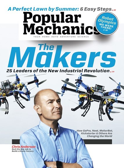 Popular Mechanics Cover - 4/1/2014