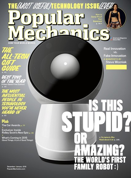 Popular Mechanics Cover - 12/1/2014