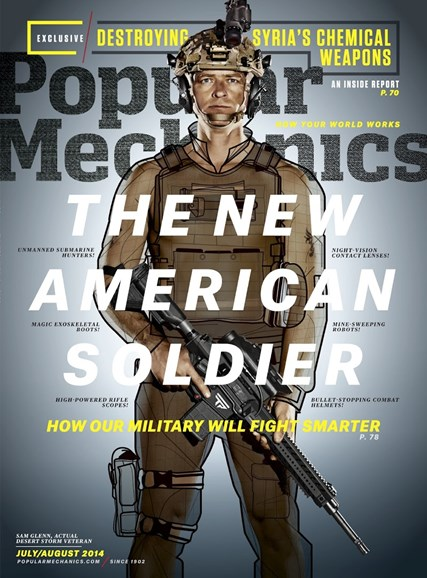Popular Mechanics Cover - 7/1/2014