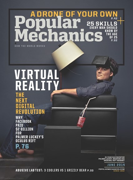 Popular Mechanics Cover - 6/1/2014