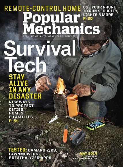 Popular Mechanics Cover - 5/1/2014