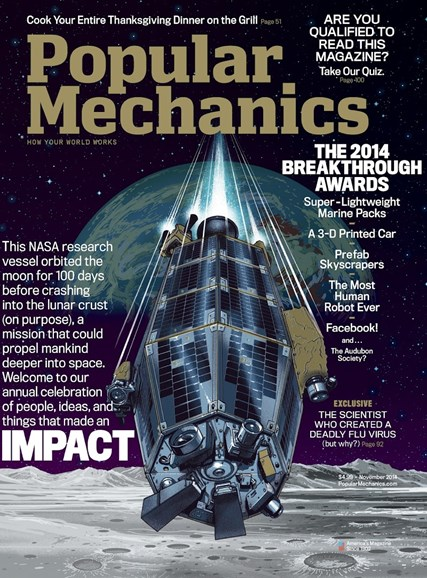 Popular Mechanics Cover - 11/1/2014