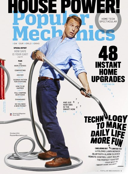 Popular Mechanics Cover - 10/1/2014
