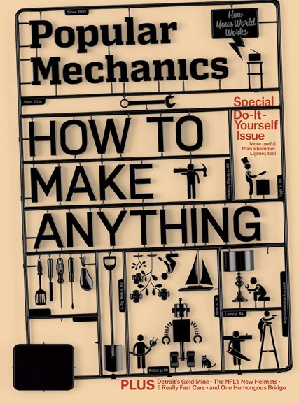 Popular Mechanics Cover - 9/1/2014