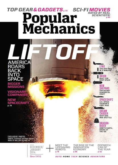 Popular Mechanics Cover - 12/1/2013