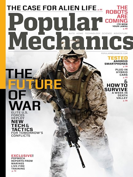 Popular Mechanics Cover - 7/1/2013