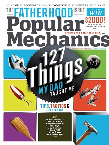 Popular Mechanics Cover - 6/1/2013