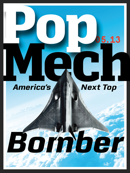 Popular Mechanics Cover - 5/1/2013