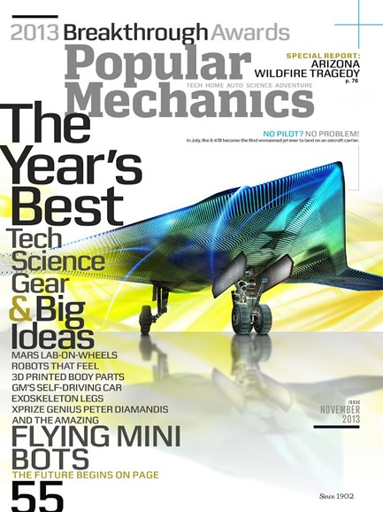 Popular Mechanics Cover - 11/1/2013