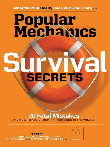 Popular Mechanics Cover - 10/1/2013