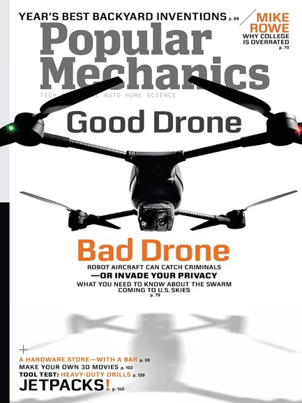 Popular Mechanics Cover - 9/1/2013