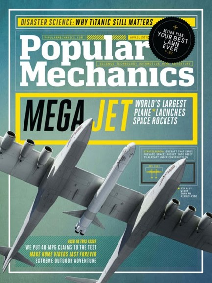 Popular Mechanics Cover - 4/1/2012