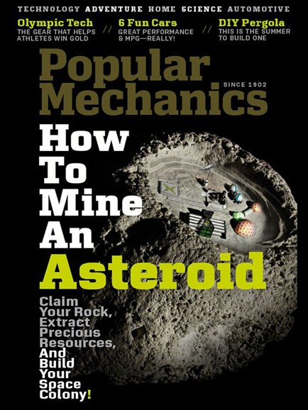 Popular Mechanics Cover - 8/1/2012