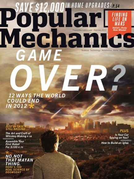 Popular Mechanics Cover - 2/1/2012