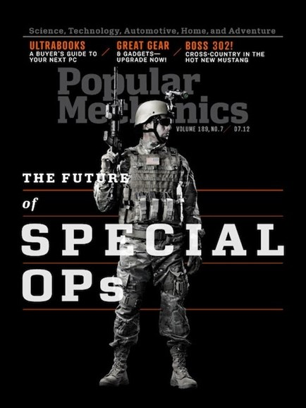 Popular Mechanics Cover - 7/1/2012
