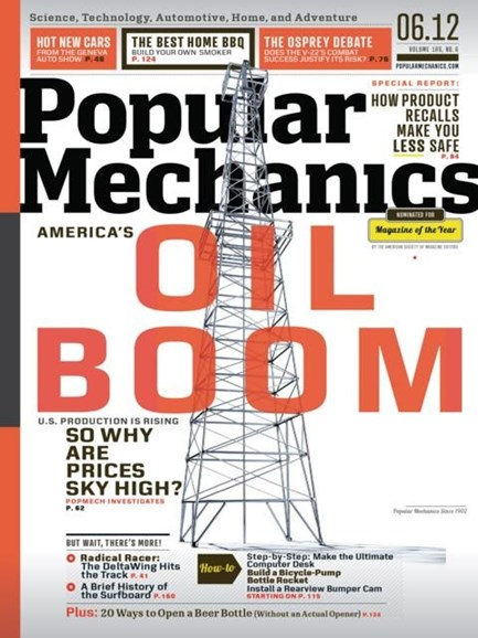 Popular Mechanics Cover - 6/1/2012