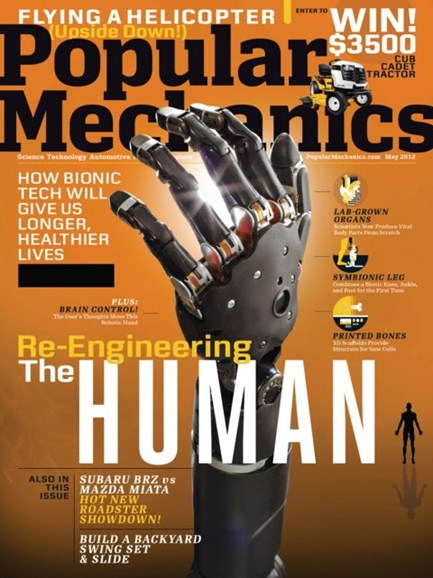 Popular Mechanics Cover - 5/1/2012