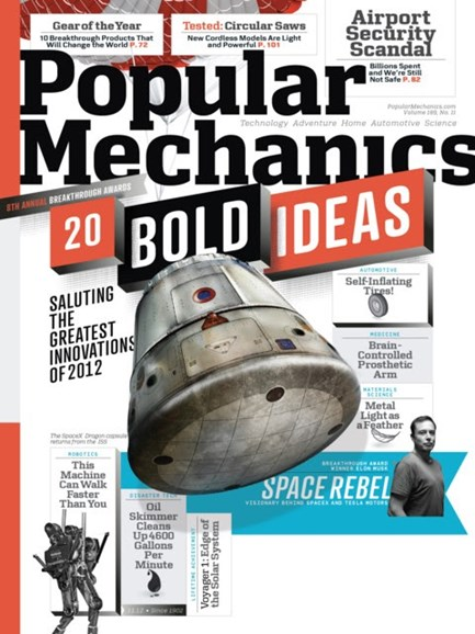 Popular Mechanics Cover - 11/1/2012