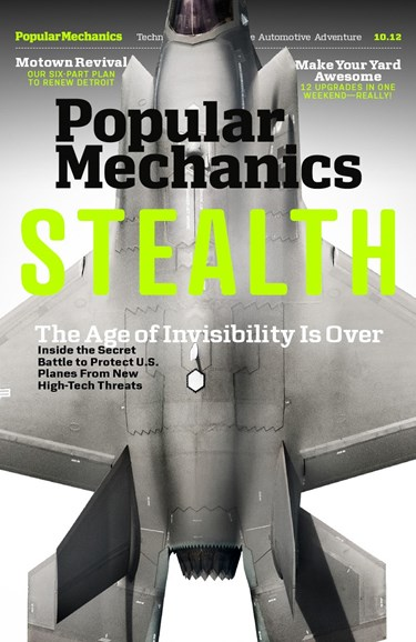 Popular Mechanics Cover - 10/1/2012