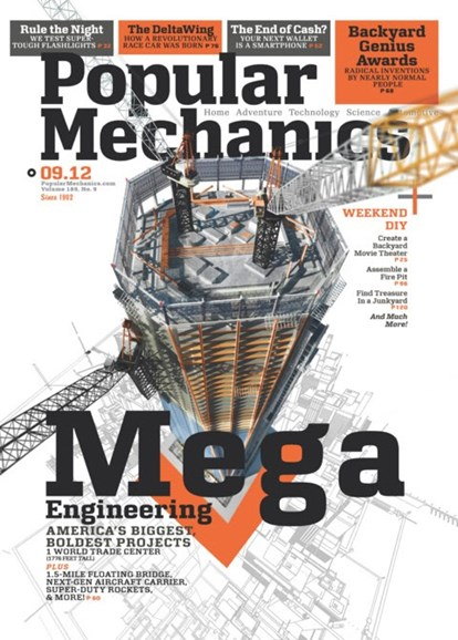 Popular Mechanics Cover - 9/1/2012
