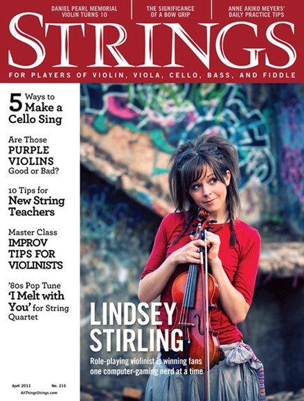 Strings Cover - 4/1/2013
