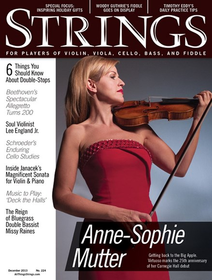 Strings Cover - 12/1/2013