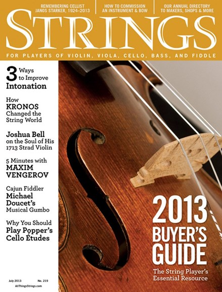 Strings Cover - 7/1/2013