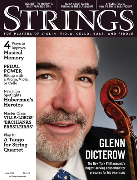 Strings Cover - 6/1/2013